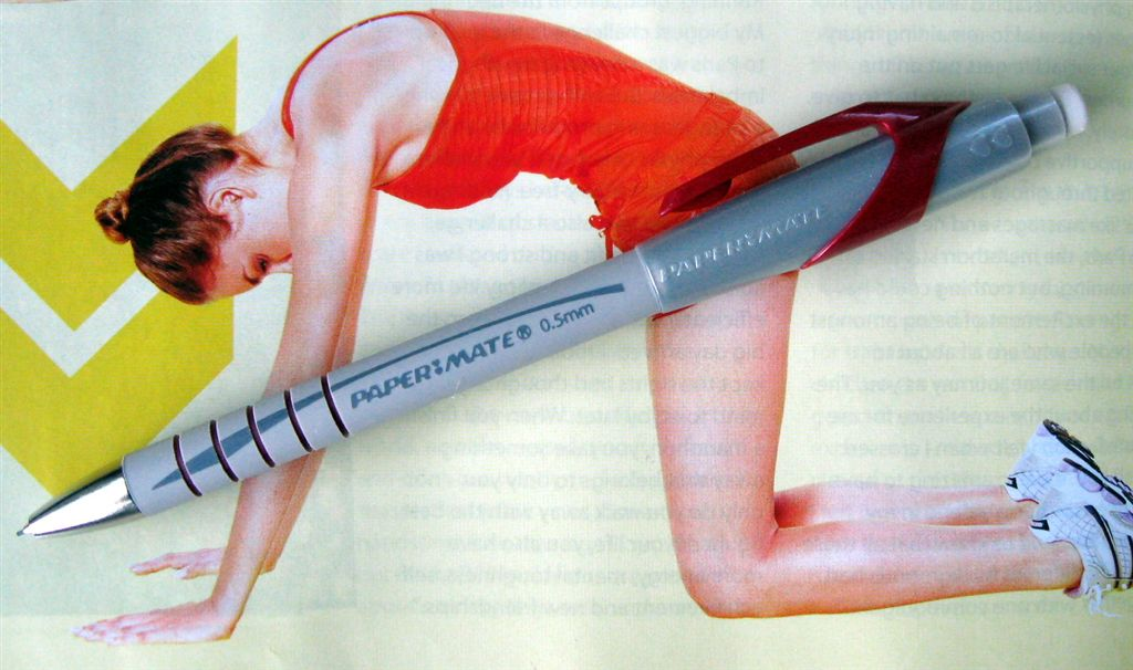how to put lead in a paper mate mechanical pencil