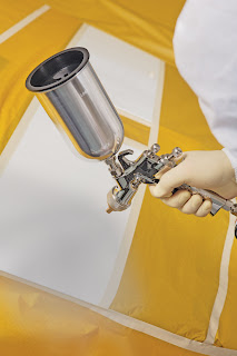 ... New RAZOR LVLP Spray Gun Best For Shops with Limited Air Supply