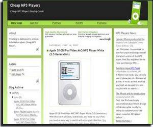 mp3-web2template
