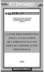Guía de Procedimientos para Evaluar Competencia
