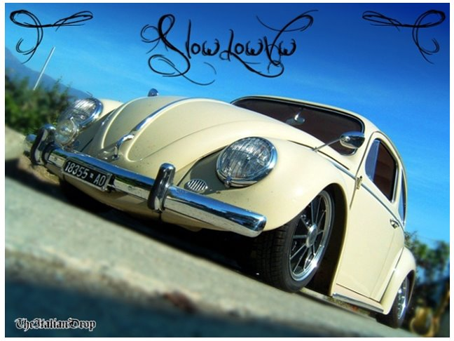 SLOWLOWVW - RESTO CAL MADE IN ITALY - SLOWLOWVW