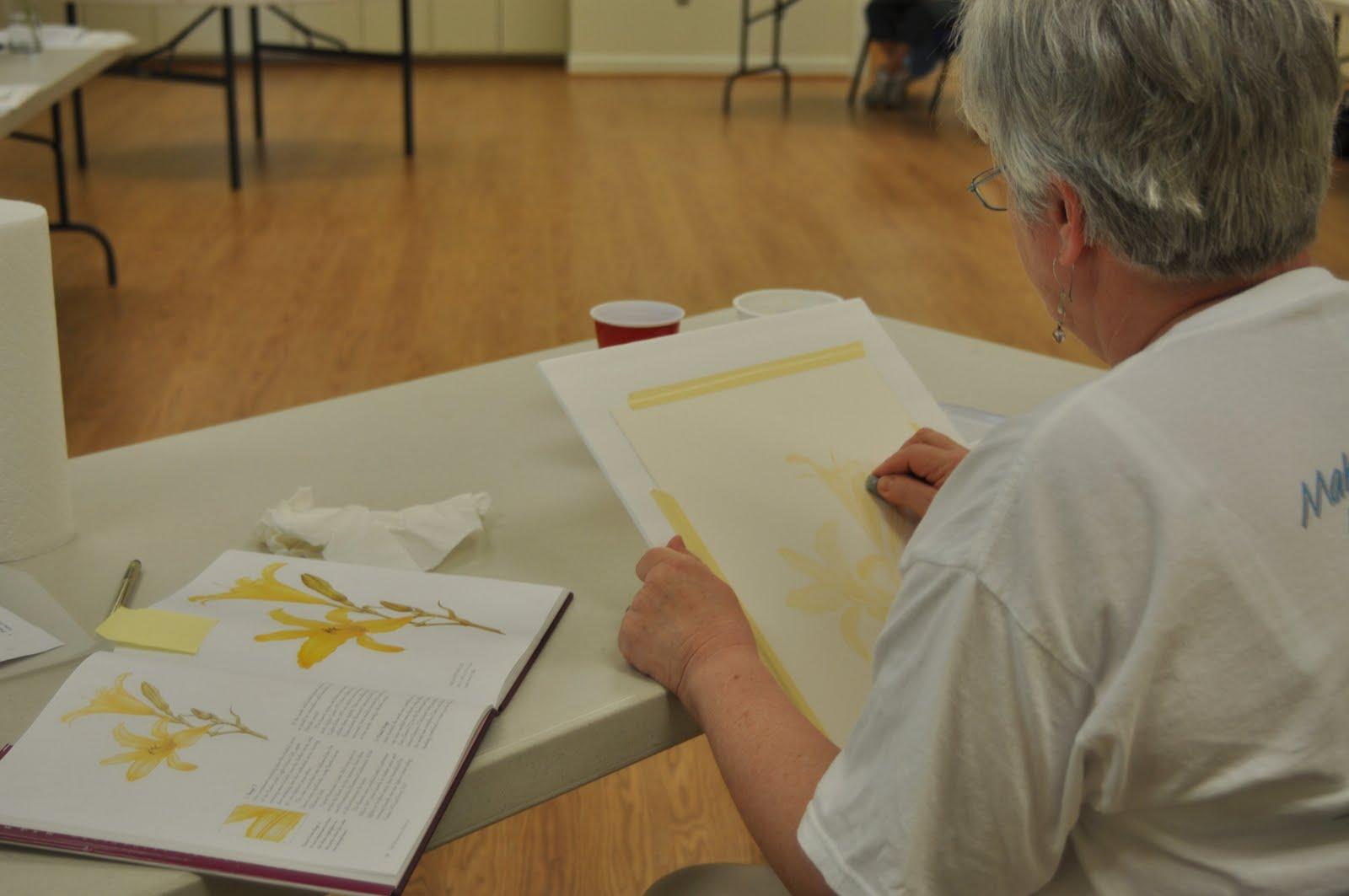 CA%2BDay%2BTwo%2B Art Instruction with Linda C. Miller: Visiting Artist Workshops: Watercolor ...
