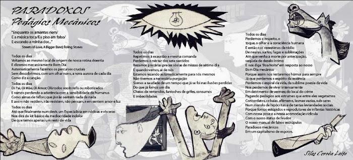 Poster-Poema Paradoxos