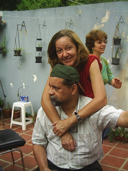 Poeta Silas e Musa Rosangela Silva