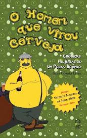 Capa do Livro O HOMEM QUE VIROU CERVEJA, Autor Paulo Urso