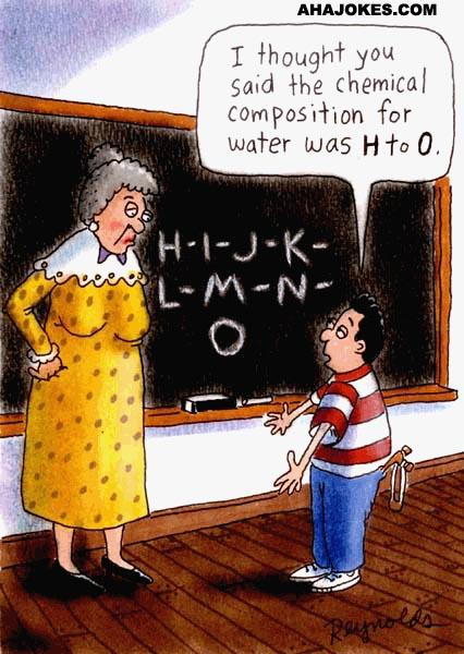 funny chemistry cartoons