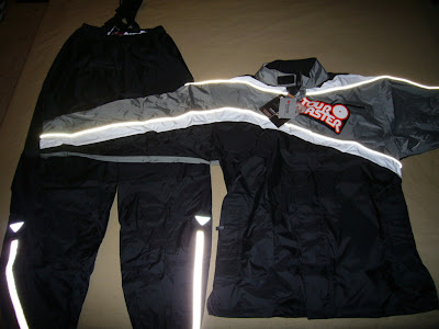 TourMaster 2 piece rain suit review