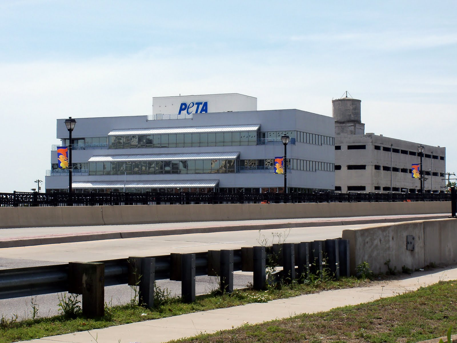 Picture of PETA HQ in Norfolk, Va. - May 2010