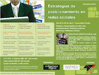 Programa del Seminario de Estrategias de posicionamiento en redes sociales