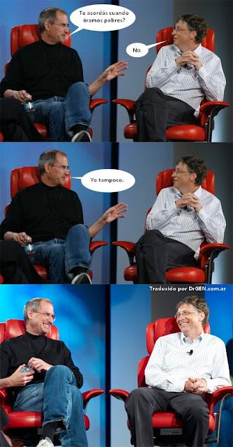 Imagen de Apple-Microsoft - cuando eramos pobres