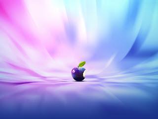 Imagen de un wallpaper sobre Apple