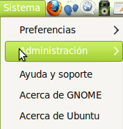 Imagen de habilitar iconos del menu en Ubuntu 10.04