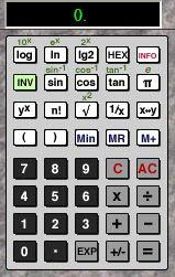 Imagen de una calculadora científica