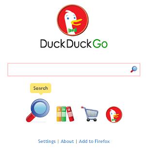 Imagen del buscador Duck Duck Go