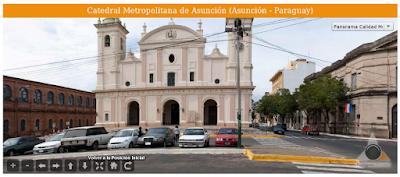 Imagen de la Catedral Metropolitana de Asunción (Asunción - Paraguay)