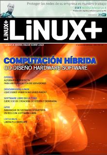 Imagen de la revista Linux+ de agosto del 2010
