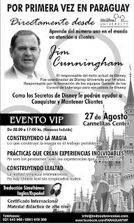 Imagen de la capacitación de atención al cliente en Asunción – Paraguay