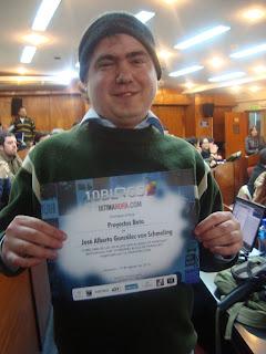 Imagen de Proyectos Beta entre los 50 mejores blogs de Paraguay en el 2010