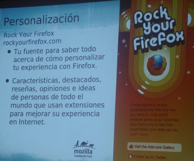Imagen de la charla Mozilla Paraguay en la Free Software Asunción