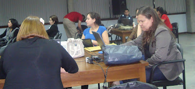 Imagen del primer día de Periodismo y redes sociales en Asunción – Paraguay