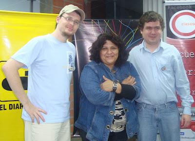 Imagen del segundo día de Periodismo y redes sociales en Asunción – Paraguay