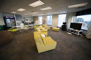 Imagen de las oficinas de Facebook en Seattle