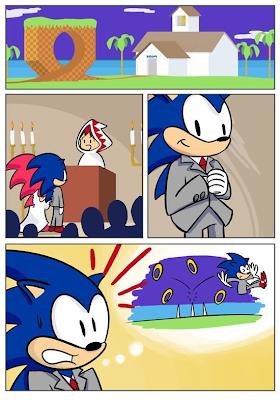 Imagen de Sonic nunca se podrá casar