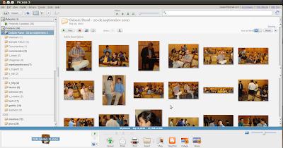 Imagen de Picasa 3 en Ubuntu 10.04