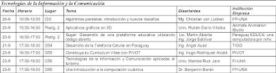Imagen del programa sobre Tecnologías de Información y de Comunicación