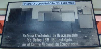Imagen del Museo Informático Histórico en la ETyC 2010