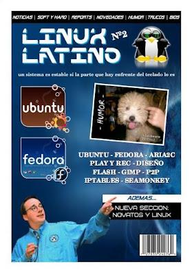 Imagen de la revista Linux Latino número 2