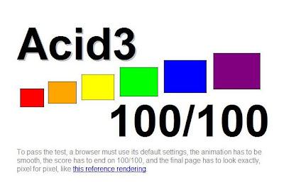 Imagen de Opera 10.62 del acid3 test