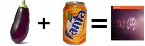 Imagen de la ecuación para lograr el logo de Ubuntu 10.04
