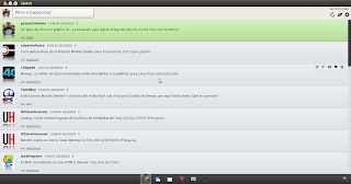Imagen de Hotot - un cliente twitter en Ubuntu 10.04