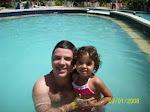 Eu e minha filha linda!