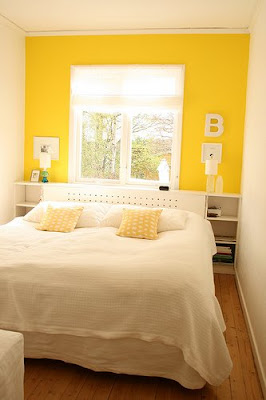 ~Cheerful Yellow Wall In