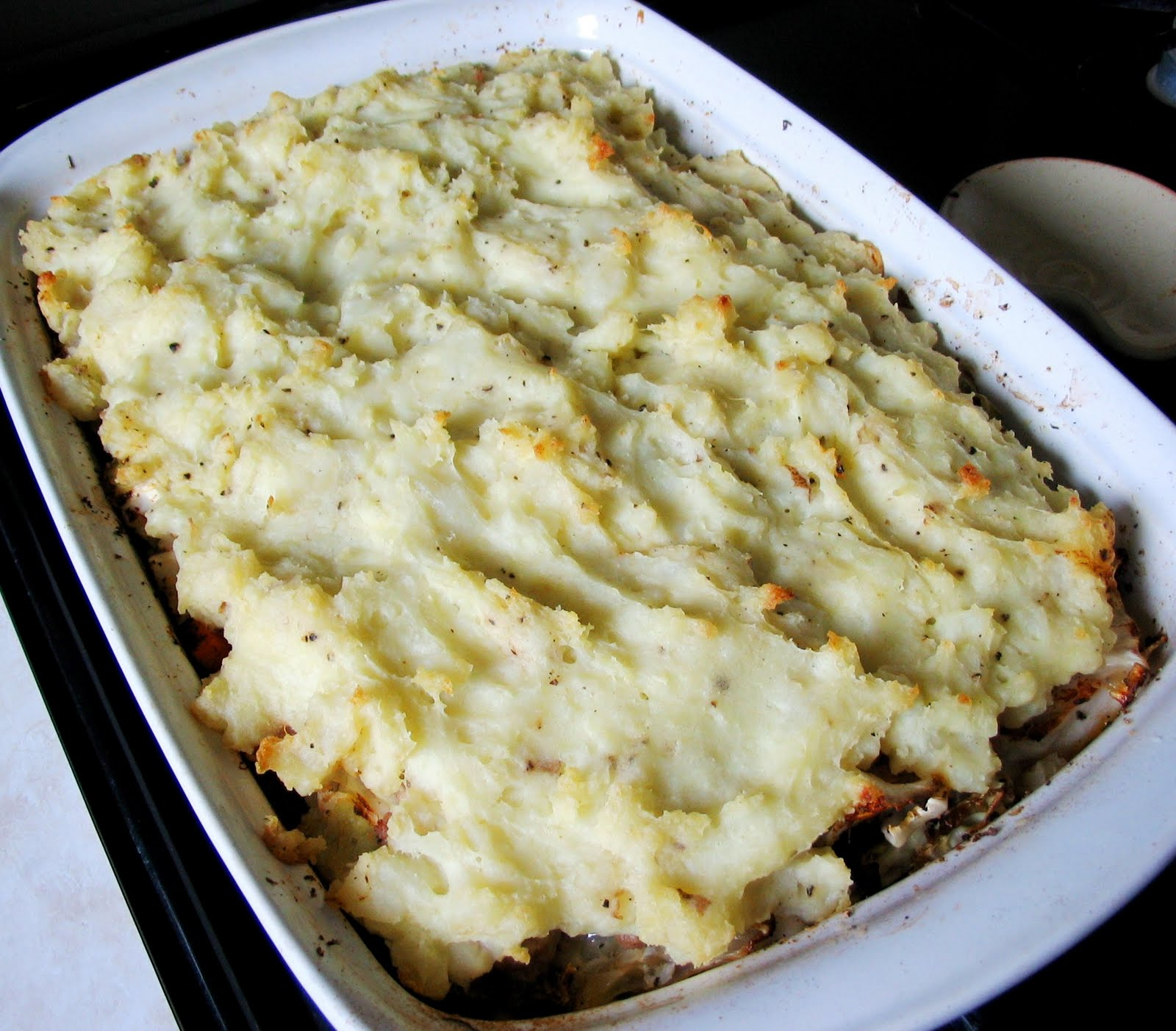 mashed potato casserole truffled mashed potato gratin mashed potato ...