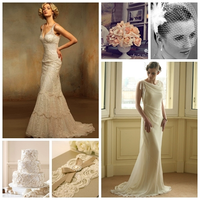 Vintage Inspired Wedding Ideas on Blog   Inspiring Wedding Ideas   Trends  Vintage Glam Wedding Ideas
