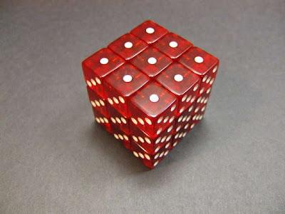 Rubik's cube dice Instrubables