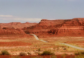 Wideview Utah desert