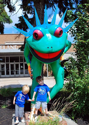 The Erie Frog Blog