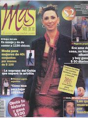 Tapa Revista Mas Mujer
