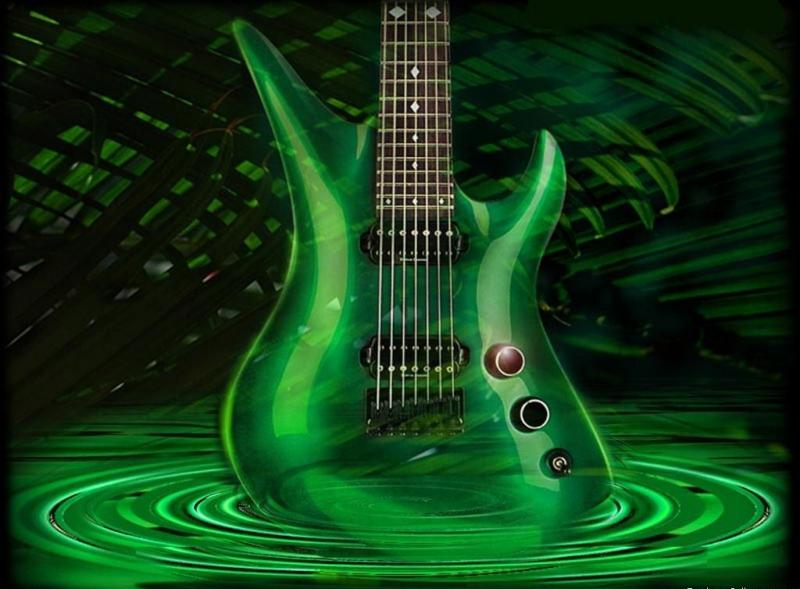 guitar wallpapers. electric guitar wallpapers.