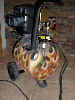 compresor de aire casero. compresor casero de aire