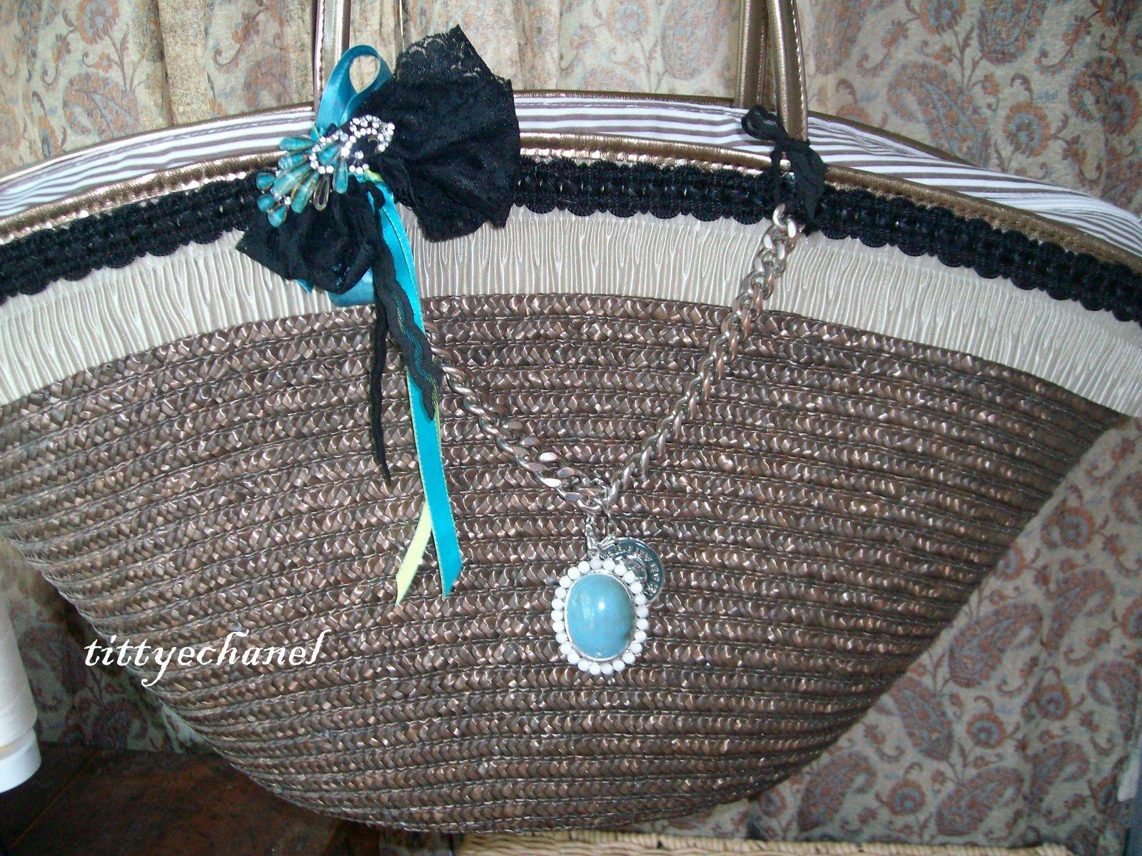 Borse Di Paglia Decorate Alluncinetto : Tiziana ventola flowers decoration borse di paglia decorate
