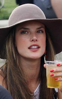 Alessandra Ambrosio Kicks Support On Coachella