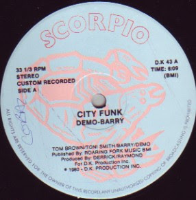 Demo-Barry - City Funk / Funk (1980) (Maxi Single)