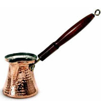 Copper Turkish Coffee Pot - Click for more info