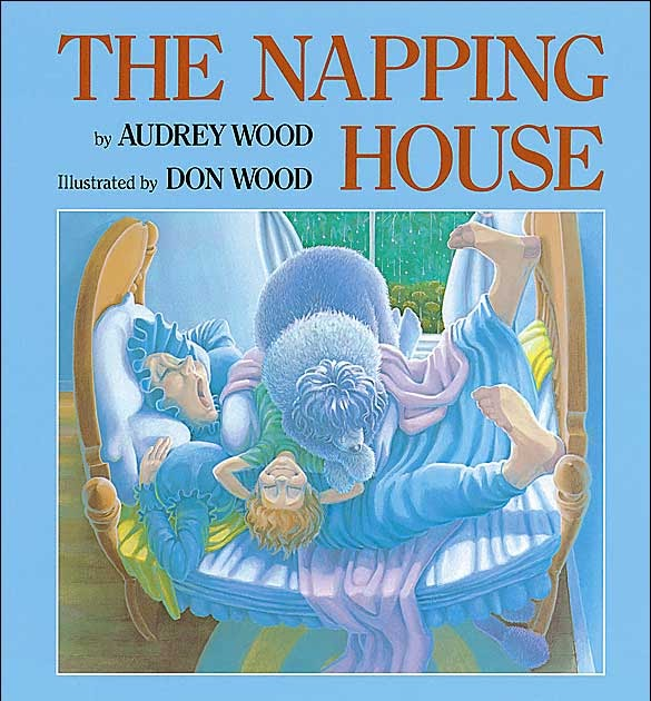 the napping house story words