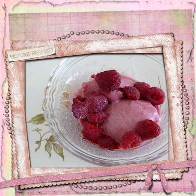 Kaleidoscope: Homemade Raspberry Gelato